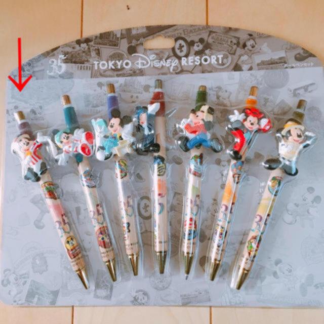 Daisy(デイジー)のディズニー35周年 ボールペン エンタメ/ホビーのおもちゃ/ぬいぐるみ(キャラクターグッズ)の商品写真