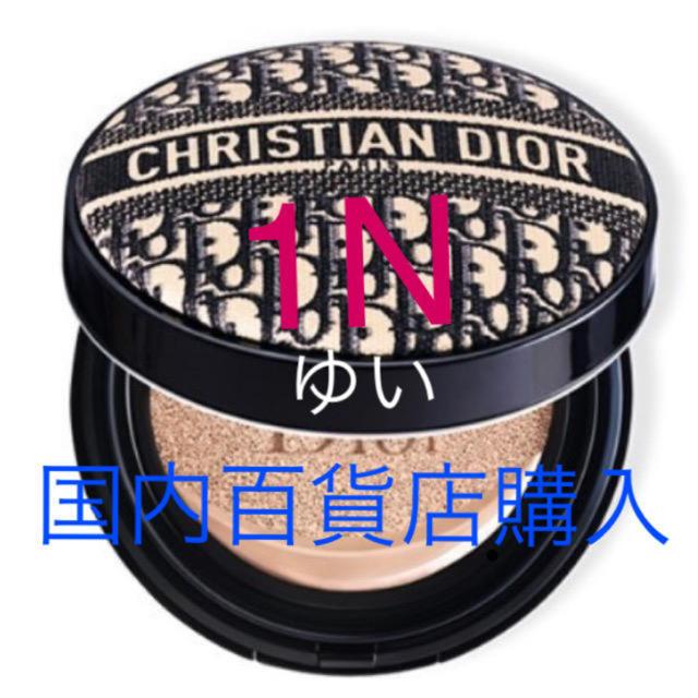 Dior(ディオール)のディオールスキンフォーエヴァークッションディオールマニアエディション1N限定新品 コスメ/美容のベースメイク/化粧品(ファンデーション)の商品写真