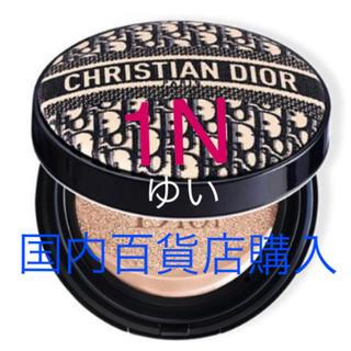 Dior - ディオールスキンフォーエヴァークッションディオールマニアエディション1N限定新品