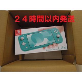 ニンテンドースイッチ(Nintendo Switch)のNintendo Switch Lite 本体 ターコイズ(家庭用ゲーム機本体)