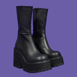 ユニフ(UNIF)のUNIF clothing パーカブーツ(ブーツ)