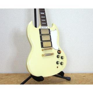 エピフォン(Epiphone)のEpiphone Les Paul Custom SG G400 3ピックアップ(エレキギター)