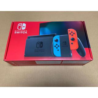 ニンテンドースイッチ(Nintendo Switch)の新品 Nintendo Switch (L)ネオンブルー(R)ネオンレッド(家庭用ゲーム機本体)