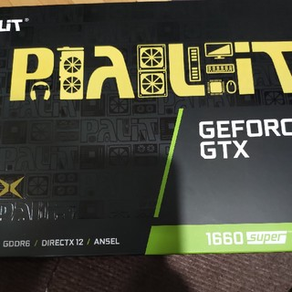 Palit GEFORCE GTX 1660 super 新品未使用品