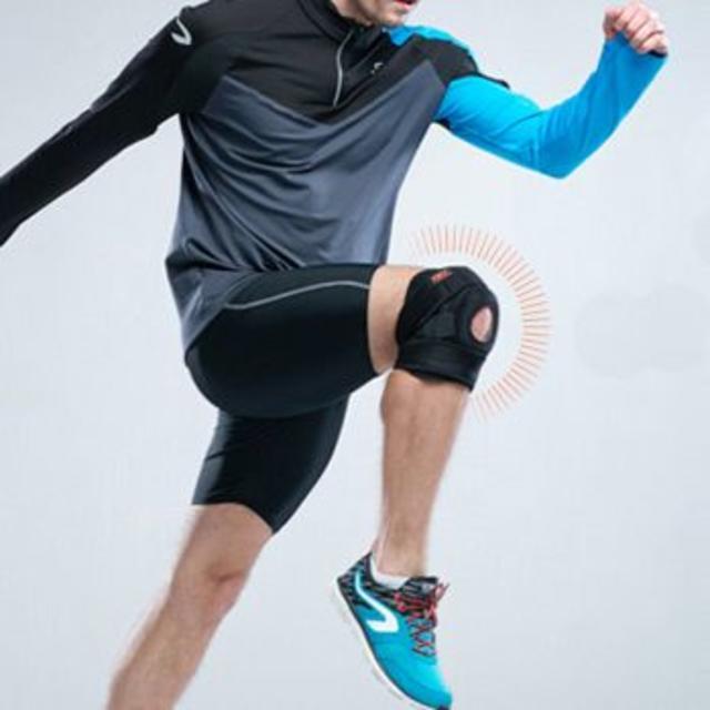 膝サポーター 左右兼用 フリーサイズ 関節炎 関節靭帯 単品 お試し価格 スポーツ/アウトドアのスポーツ/アウトドア その他(その他)の商品写真