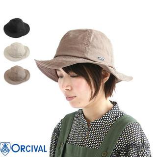 オーシバル(ORCIVAL)のオーシバル リネンハット 帽子(ハット)