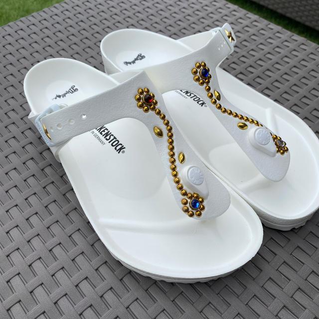 Ron Herman(ロンハーマン)の夏⭐︎ビリケンサンダル×マーブルズ⭐︎ メンズの靴/シューズ(サンダル)の商品写真