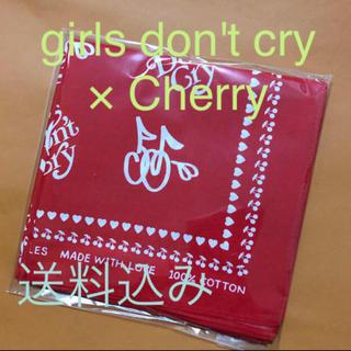 UNITED ARROWS - 【送料込み】girls don't cry × Cherry バンダナ