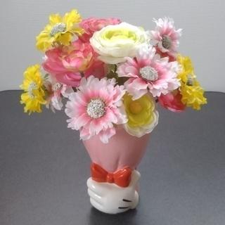 ディズニー(Disney)のミッキーから花束のプレゼント(フラワーベース)(花瓶)