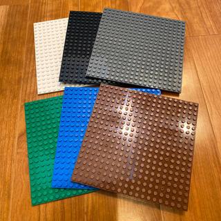 Lego - 新品 LEGO 基礎板 互換品 ベーシックカラー 6枚セット 裏面使用可