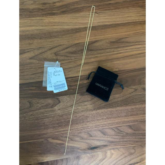 L'Appartement DEUXIEME CLASSE(アパルトモンドゥーズィエムクラス)のL'Appartement MARAMCS Chain Y Long ネックレス レディースのアクセサリー(ネックレス)の商品写真