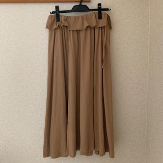 ホコモモラ(Jocomomola)のホコモモラ ドライ天竺ギャザースカート(ロングスカート)