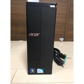 エイサー(Acer)のAcer AX1930 AX1930-A24DWindows10完動品(デスクトップ型PC)