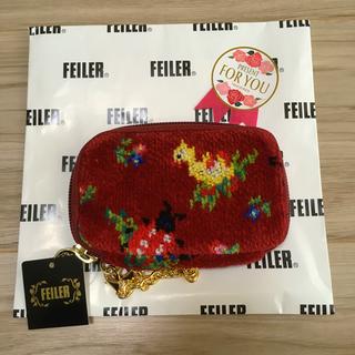 FEILER - フェイラー 完売 ハイジ ノーブルローズ キーケース 新品 FEILER ポーチ