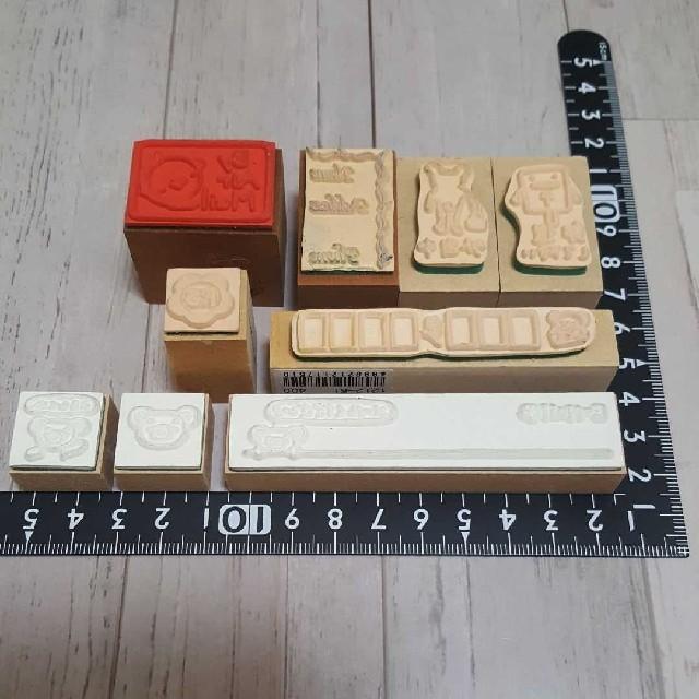 郵便 スタンプセット インテリア/住まい/日用品の文房具(印鑑/スタンプ/朱肉)の商品写真