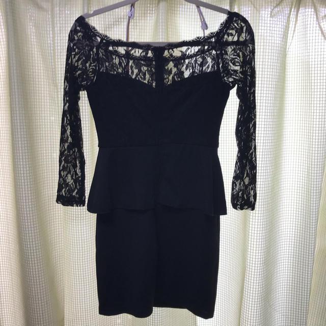 dazzy store(デイジーストア)のミニドレス 黒 レディースのフォーマル/ドレス(ミニドレス)の商品写真