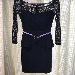 dazzy store - ミニドレス 黒