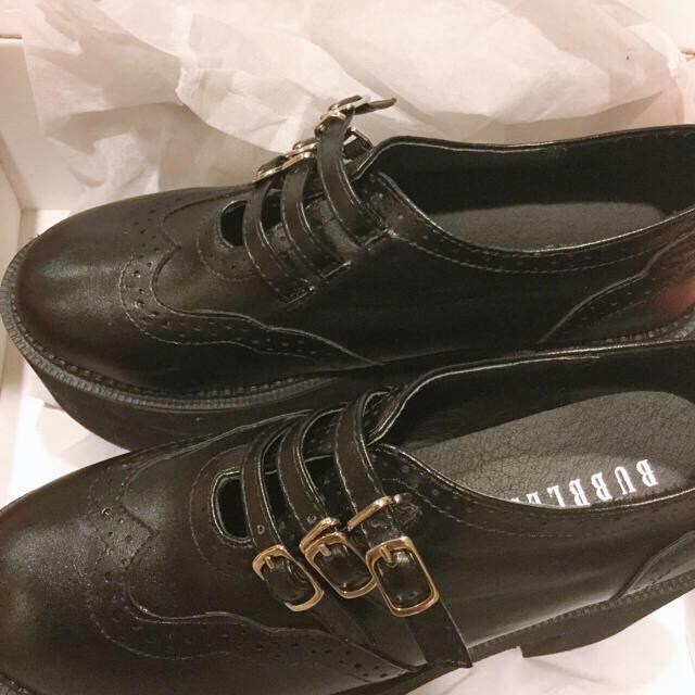 Bubbles(バブルス)の最終価格❤︎❤︎バブルス☆★厚底 レディースの靴/シューズ(ローファー/革靴)の商品写真
