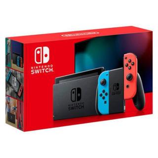 ニンテンドースイッチ(Nintendo Switch)の新品未使用 Nintendo Switch JOY-CON ネオンブルー・レッド(家庭用ゲーム機本体)