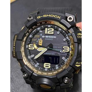 ジーショック(G-SHOCK)のカシオG-SHOCK GWG-1000GB-1AJFマッドマスター電波ソーラー(腕時計(デジタル))