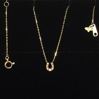サマンサティアラ(Samantha Tiara)のサマンサティアラ K10YG 馬蹄ネックレス(ネックレス)