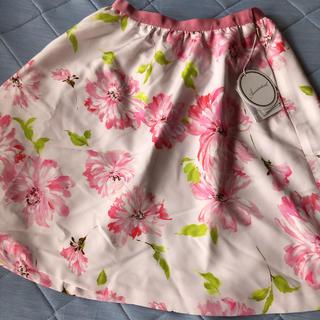 アベニールエトワール(Aveniretoile)のアベニールエトワール    花柄スカート38サイズ(ひざ丈スカート)