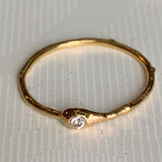 H.P.FRANCE - イロンデール K18ダイヤモンドリング 美品
