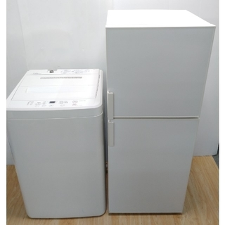 ムジルシリョウヒン(MUJI (無印良品))の無印良品 冷蔵庫 洗濯機 2019年セット シンプルデザイン ホワイト(冷蔵庫)