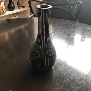 アクタス(ACTUS)のコンランショップ マンゴーウッドベース ブラック(花瓶)