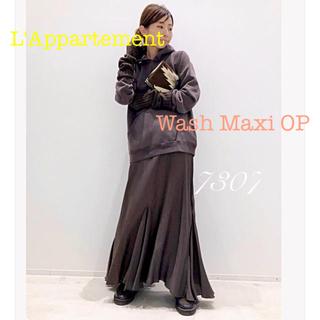 L'Appartement DEUXIEME CLASSE - L'Appartement Wash Maxi ワンピース ブラウンA チャイロ