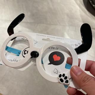 スヌーピー(SNOOPY)のUSJ  ユニバ スヌーピ 伊達眼鏡 伊達めがね 新品(サングラス/メガネ)