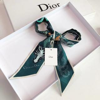 ディオール(Dior)の【Christian Dior】ディオールロゴデザインMitzah スカーフ(バンダナ/スカーフ)