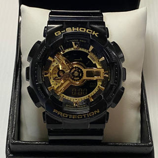 ジーショック(G-SHOCK)のカシオG-SHOCK GA-110GB ブラック/ゴールド(腕時計(デジタル))