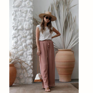 room306 CONTEMPORARY - room306 CONTEMPORARY  Tassel Wide Pants