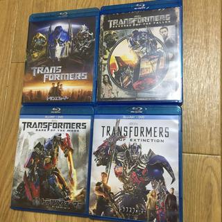 トランスフォーマー (1〜4セット)Blu-ray【中古】(外国映画)