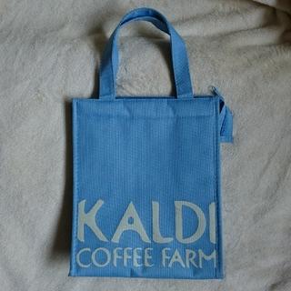 カルディ(KALDI)のカルディ 保冷バッグ  保冷トートバッグ KALDI 限定カラー(弁当用品)
