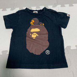 アベイシングエイプ(A BATHING APE)のA BATHING APE   BAPE KIDS  Tシャツ 100cm(Tシャツ/カットソー)