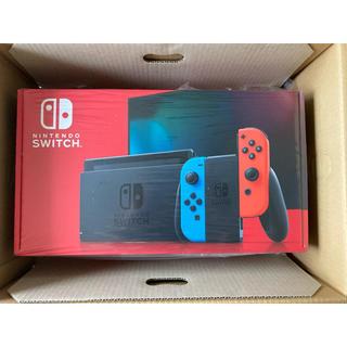 ニンテンドースイッチ(Nintendo Switch)の【新品】ニンテンドースイッチ 本体 ネオン Nintendo Switch(家庭用ゲーム機本体)