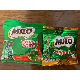 Nestle - ミロお菓子セット(エナジーキューブ、ナゲット)