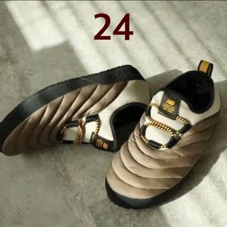 ニューバランス(New Balance)のニューバランス モックシューズ  ブラウン 24(スニーカー)