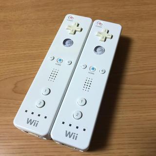 Wii - 任天堂Wiiリモコン ホワイト2本セット