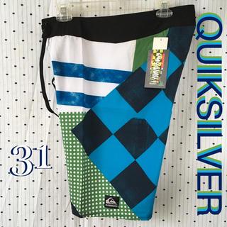クイックシルバー(QUIKSILVER)のQSクイックシルバー US限定サーフトランクス トリッキー パンツ 31インチ(サーフィン)