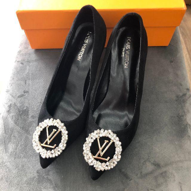 LOUIS VUITTON(ルイヴィトン)のルイヴィトン ハイヒール レディースの靴/シューズ(ハイヒール/パンプス)の商品写真