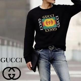 Gucci - グッチ GUCCI ロゴ スウェット トレーナー
