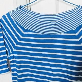 ニッセン(ニッセン)の五分袖 Tシャツ 10月末まで(Tシャツ(半袖/袖なし))