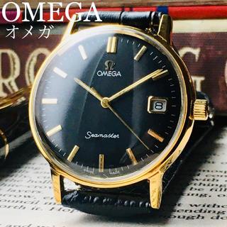 オメガ(OMEGA)のOH済★オメガ シーマスター アンティーク 腕時計 手巻き メンズ 1960年代(腕時計(アナログ))