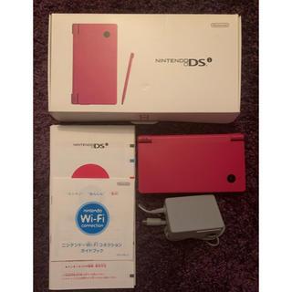ニンテンドーDS(ニンテンドーDS)のニンテンドー DSi ピンク 本体(携帯用ゲーム機本体)