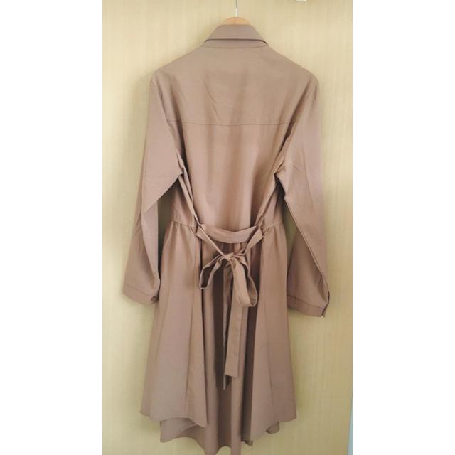 GRL(グレイル)の☆値下げ グレイル シャツワンピース  羽織り レディースのワンピース(ひざ丈ワンピース)の商品写真