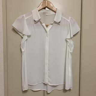 プロポーションボディドレッシング(PROPORTION BODY DRESSING)のプロポーションボディドレッシング ブラウス ホワイト サイズ 2 (シャツ/ブラウス(半袖/袖なし))