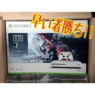 エックスボックス(Xbox)の【週末×期間限定!】Xbox One S 1TB Star Wars デラックス(家庭用ゲーム機本体)